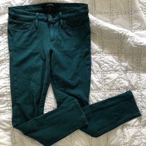 Anthropologie + Joe's Jewel-Toned Skinny Fit Jeans